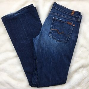 7 FOR ALL MANKIND Darker Wash Bootcut Jeans Sz. 30